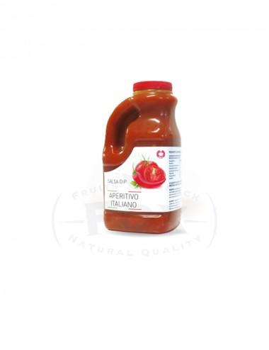 Salsa Dip plastic jars
