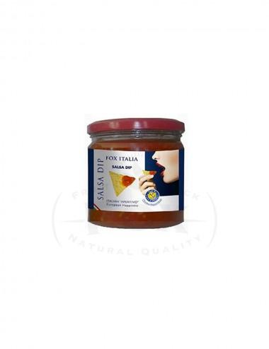 Salsa Dip glass jars